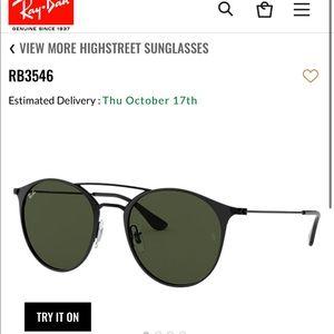 RayBan polarized glasses